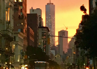New York City Sunset photo