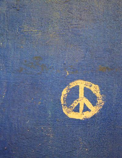 Peace symbol Jerusalem photo