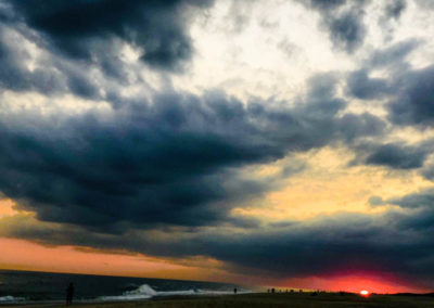 Stormy Long Island skies photo