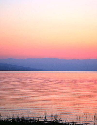 Stunning Sunrise, Sea of Galilee