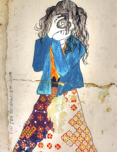 The Photographer street art