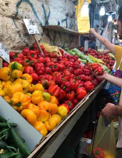Vibrant Vegetables, Machane Yehuda