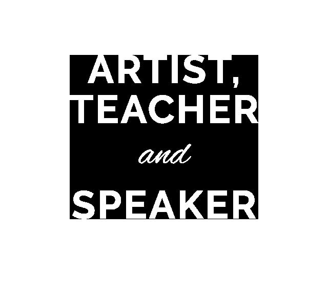 artist, teacher and speaker lisa mintz
